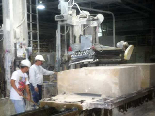 Planer Operation In Plant