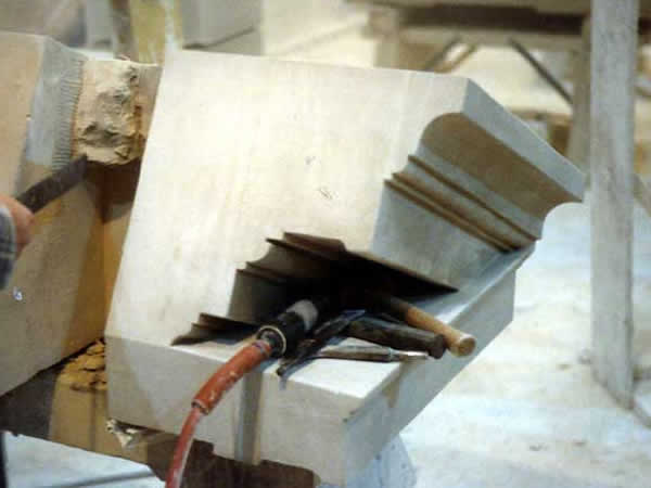 Limestone Kneeler